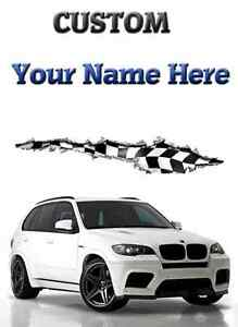 Bmw X5 Silver Car Birthday Get Well Happy A5 Personalised Greeting