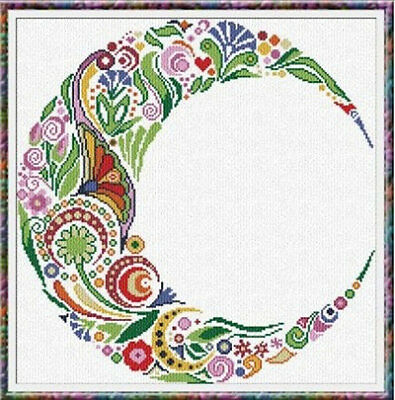 Alessandra Adelaide Needleworks Counted Cross Stitch Chart AAN197 - Spring Moon