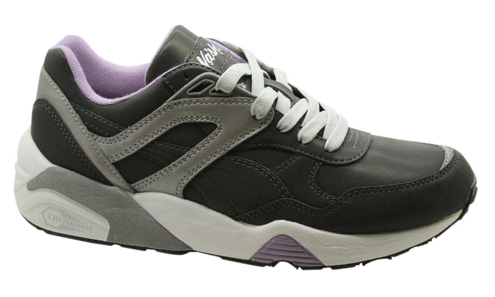 Puma Trinomic 3M R698 x Vashtie 90S 3M Trinomic Womens Trainers Lace Up Shoes 358484 01 U7 19abd0