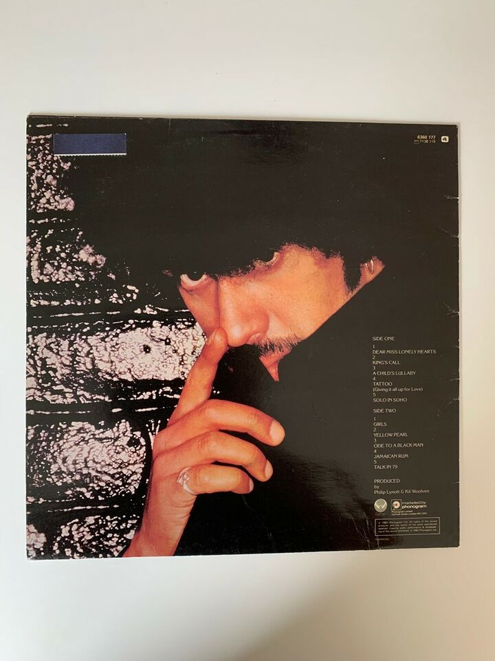 LP, Phill Lynott, Solo in Soho