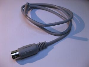 Cable-5-Pin-DIN-Male-Clipped-Raw-30-inch-Used-Qty-1