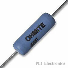 OHMITE    43F1R0E    Through Hole Resistor, 40 Series, 1 ohm, 3 W, ± 1%, 200 V,