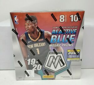 2019-20-Panini-Mosaic-Mega-Box-NBA-Prizm-Zion-Williamson-Luka-Doncic-Ja-Morant