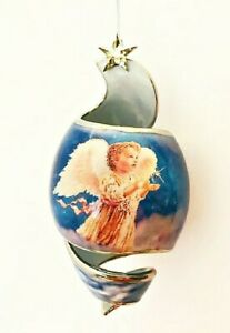 Starlight Blessings 2001 Porcelain Angel Ornament Twinkle Twinkle All The Night