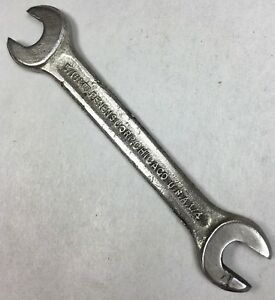 Vintage-PENENS-CORP-TOOLS-Open-End-Wrench-5-16-034-x-1-4-034-SAE-Chicago-U-S-A-Tool