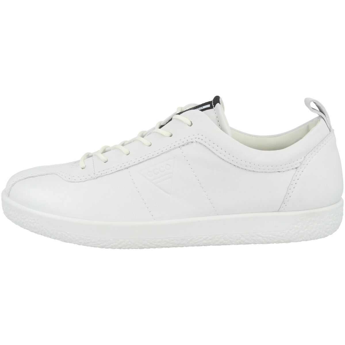 Ecco Soft 1 Ladies Scarpe Scarpe Scarpe in Pelle da Donna Scarpe Basse scarpe da ginnastica bianca 400503-01007 0ea25b