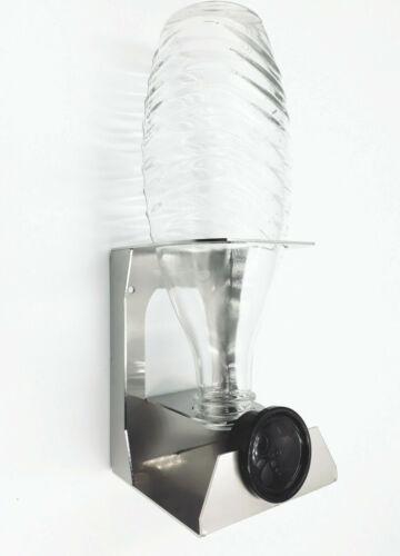 Abtropfhalter Kompatibel Sodastream Crystal Glasflasche Flaschenhalter Neu