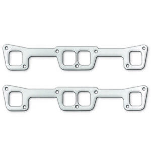 "Remflex Exhaust Header Gasket 2010; Square Port .125/"" for Chevy 4.3L V6"