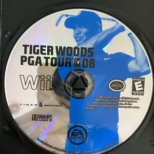 Tiger Woods PGA Tour 08 (Nintendo Wii, 2007)