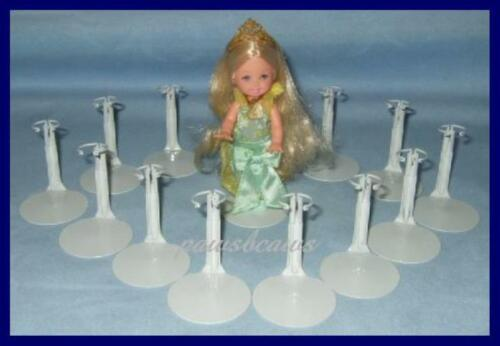 12 White KAISER Doll Stands for KELLY Kids Club U.S.SHIPS FREE