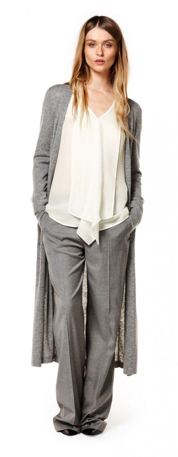 Laurel Klassische Hose aus einer hochwertigen Woll-Mischung,Farbe grey, Größe 40