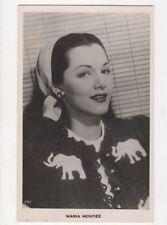 Maria Montez Actress Vintage RP Postcard 478a