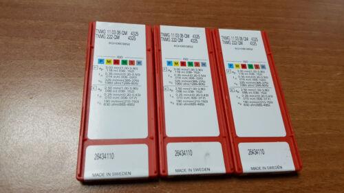 10pcs TNMG 222-QM 4325 TNMG 110308-QM 4325 SANDVIK