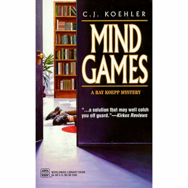 Mind Games (Worldwide Library Mysteries) C. J. Koehler