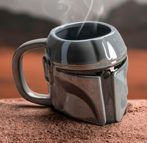 Star Wars The Mandalorian Helmet Shaped Mug Mandalorian Baby Yoda