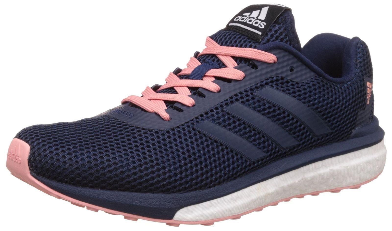Adidas Boost vengeur pour femme UK 5 EU 38 Bleu Marine Rose Chaussures De Course Baskets BB1637