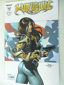 1 X Bd-witchblade Nouvelle Série Nº 51-infinity Top Cow-z.1/1-2-afficher Le Titre D'origine Art De La Broderie Traditionnelle Exquise