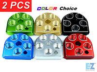 (2) Dillon Precision Xl650 Style Tool Head Billet Aluminum Anodized Cnc Toolhead