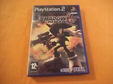 Shadow The Hedgehog Sony PlayStation 2