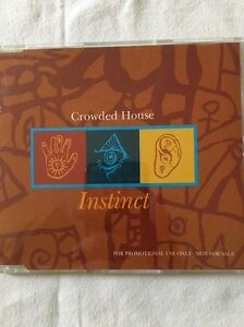 Crowded House  Instinct  promo CD Single - Crawley, United Kingdom - Crowded House  Instinct  promo CD Single - Crawley, United Kingdom