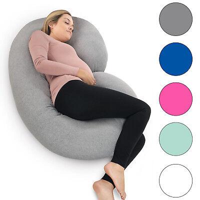 Pregnancy Pillow - Full Body Pillow for Maternity & Pregnant Women by PharMeDoc