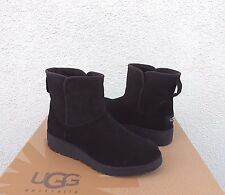 item 4 UGG KRISTIN CLASSIC SLIM BLACK SUEDE/ SHEEPSKIN WEDGE BOOTS, US 6/ EUR 37 ~ NIB -UGG KRISTIN CLASSIC SLIM BLACK SUEDE/ SHEEPSKIN WEDGE BOOTS, ...