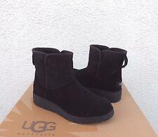 item 2 UGG KRISTIN CLASSIC SLIM BLACK SUEDE/ SHEEPSKIN WEDGE BOOTS, US 7.5/ 38.5 ~ NIB -UGG KRISTIN CLASSIC SLIM BLACK SUEDE/ SHEEPSKIN WEDGE BOOTS, ...