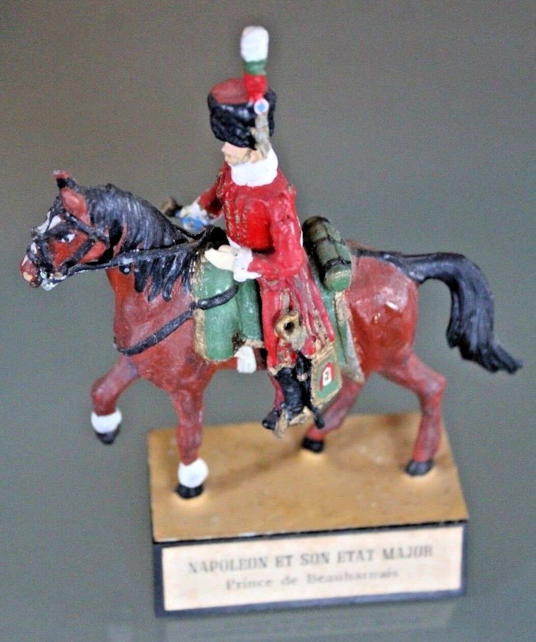 Soldat Blei ALMIRALL NAPOLEON seinem Zustand Major der beauharnais Pferd