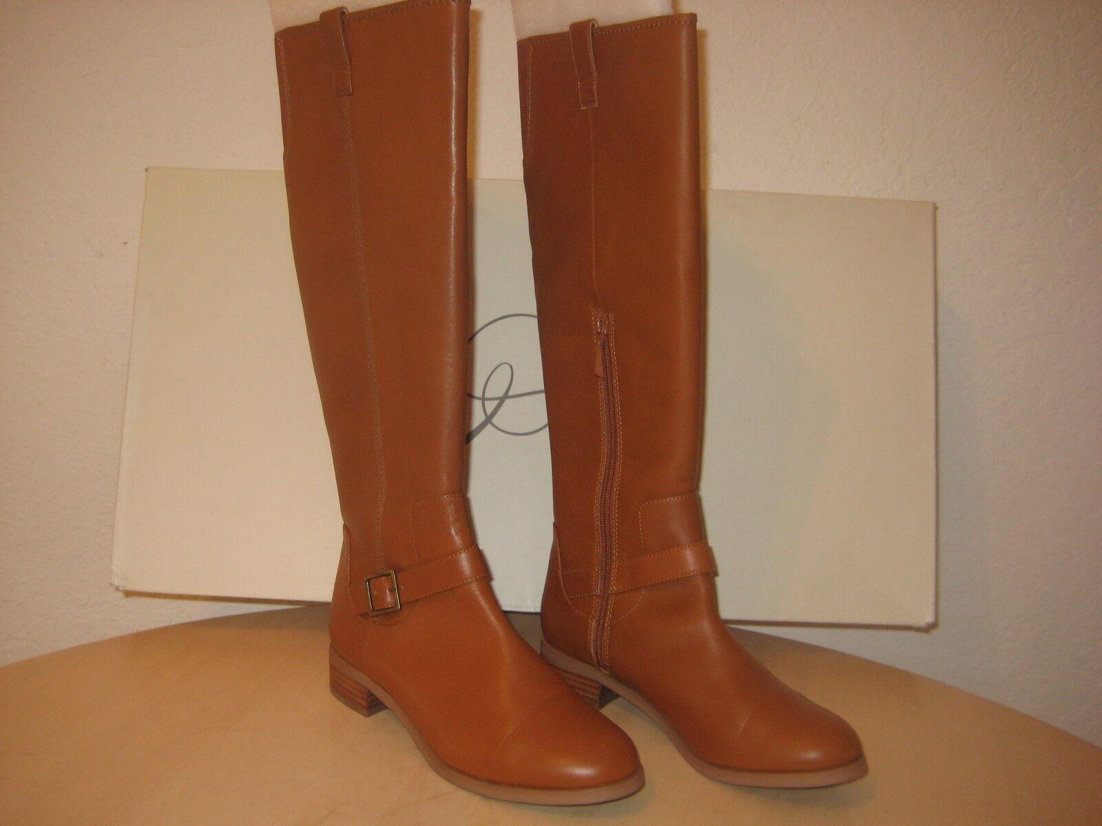 Rachel Roy Schuhes Größe 6 M Damenschuhe NEU Desirey Dark Natural Leder Fashion Stiefel