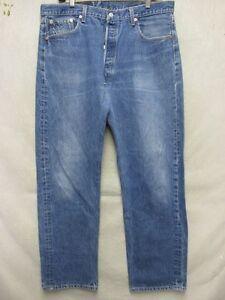 D4150 37x30 Levi's Tueur Fabriqué Hommes Aux Usa Jeans 501 Décoloré pZaAUrpq
