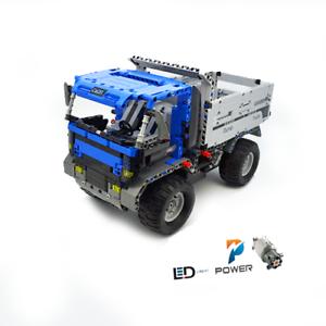 Technic-Dump-Truck-42056-42083-42099-42110-Building-Blocks-Bricks-MOC