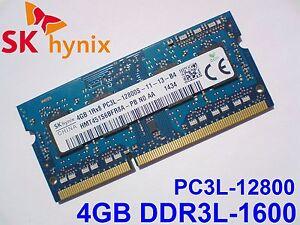 4GB-DDR3L-1600-Mhz-PC3L-12800S-SK-HYNIX-HMT451S6BFR8A-PB-SODIMM-MEMORY-RAM