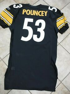 PITTSBURGH-STEELERS-TEAM-ISSUED-JERSEY-MAURKICE-POUNCEY-2011-GAME-JERSEY-SIZE-54