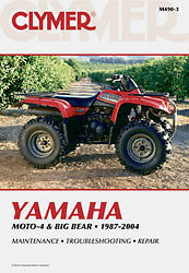 clymer repair manual fits yamaha yfm400fwn big bear 4x4 sra rh ebay com Big Bear 400 4x4 Big Bear 400