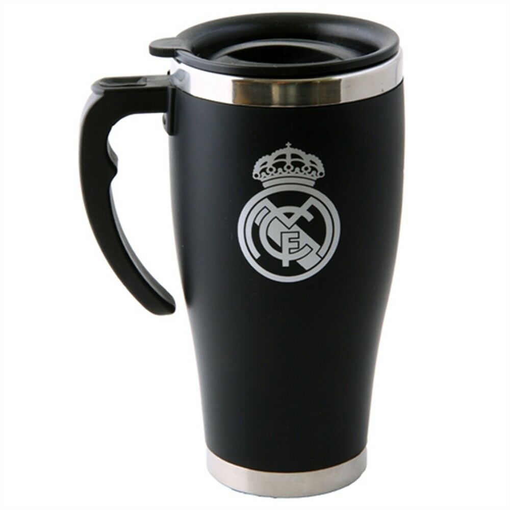 Real Madrid Foil Print Travel Mug