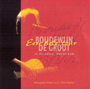 BOUDEWIJN-DE-GROOT-EEN-HELE-TOUR-2-CD-GESIGNEERD-DOOR-BOUDEWIJN-DE-GROOT