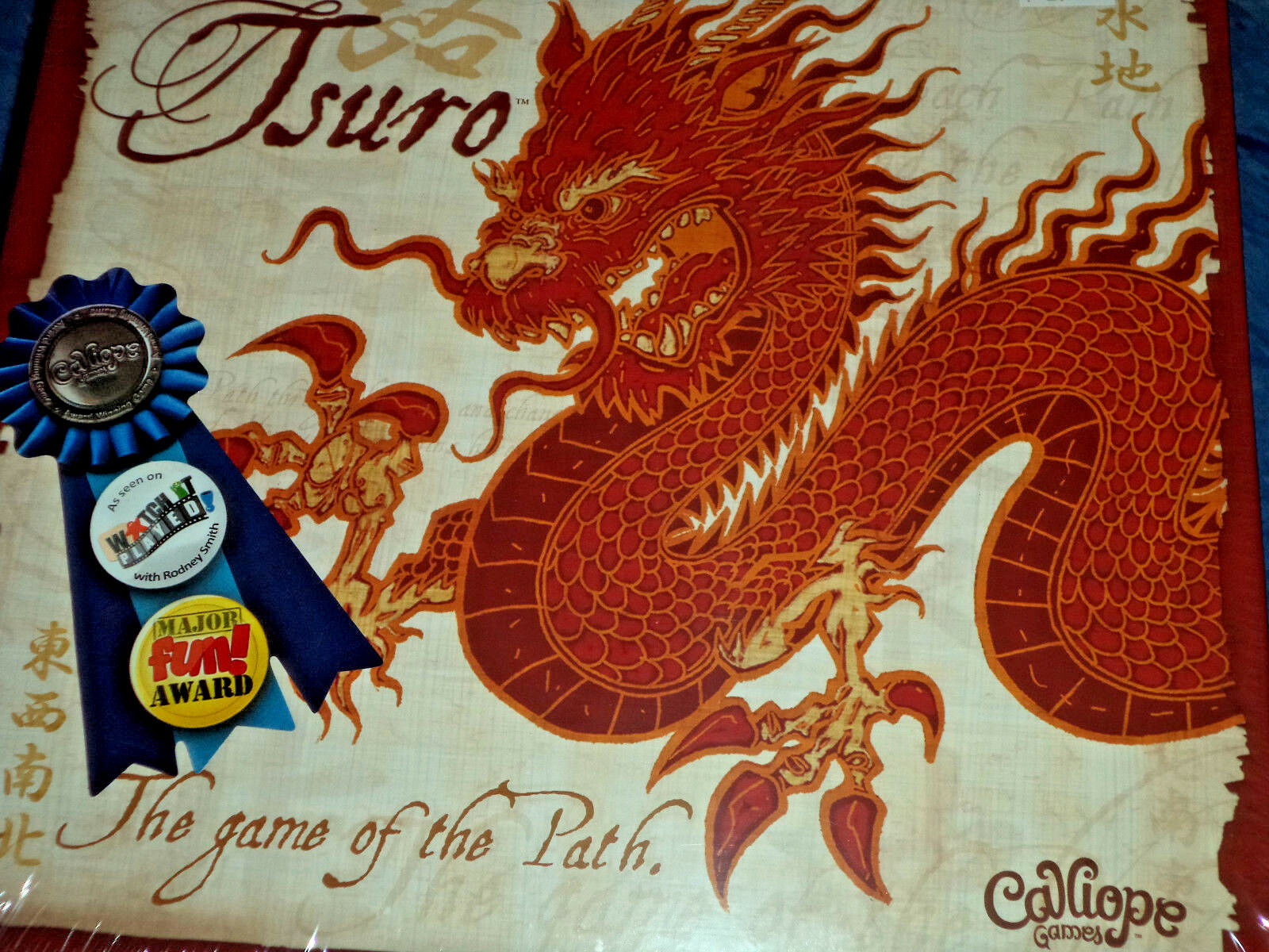 Tsuro - Calliope Games Board Game New  The Game of Path