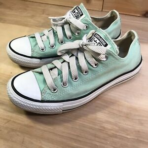 Converse All Star Mint Green Low Top