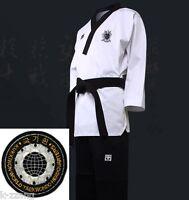 Taekwondo Tae Kwon Do Mooto Wtf Poomsae Dan Uniform Male Dobok Kukkiwon Korean