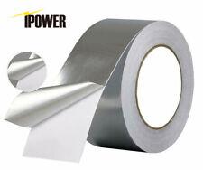 Ipower 50m Aluminum Foil Tape 2 Inche X 55 Yard Self Adhesive Ducting Tape
