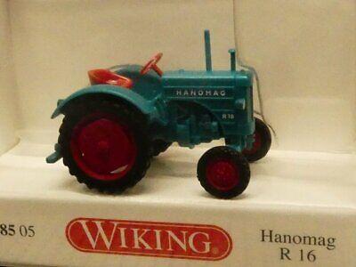 1/87 Wiking Hanomag R 16 Acqua Blu 0885 05-mostra Il Titolo Originale Fabbricazione Abile