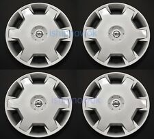 "SET (4) 2007 2008 2009 2010 Versa Cube 15"" Hubcap Rim Wheel Cover Wheelcover NEW"