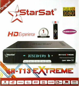 Details about Starsat sr-2000HD Extreme receiver +Forever server +sstv  +Apollo +vod +youtube