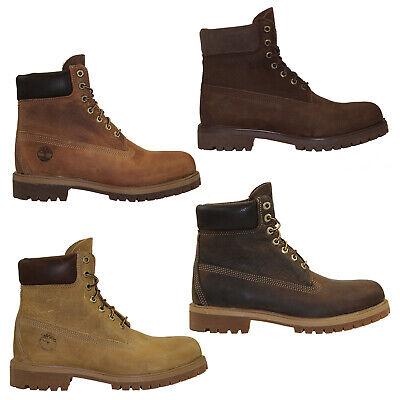 Details zu Timberland Heritage 6 Inch Premium Boots Waterproof Stiefel Herren Schnürstiefel