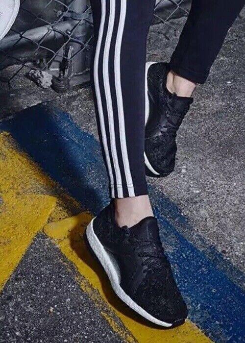 New Adidas Woherren PUREBOST X ELEmännerT schwarz BB6086 Retail  130