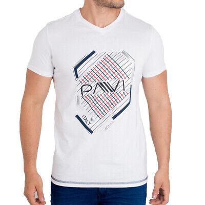 Pavi Italy Polo shirt white 05-0253 for men