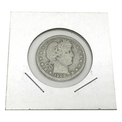 1892 Barber Dime 90/% Silver Good GD