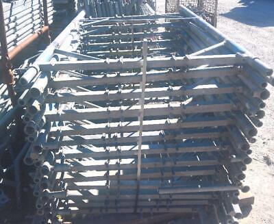 Plettac Vertikalrahmen Sl100 Stahl 200x110cm Gerüst V-rahmen Gerüstrahmen