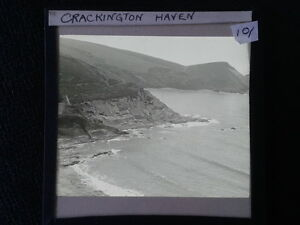 Lantern-Glass-Slide-Crackington-Haven-Cornwall-Cliffs-Photo-pre-1920s-10