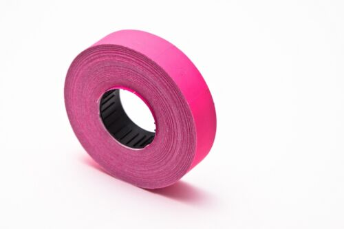 Motex or goldstar Mx6600 2 Line Label PINK 100X800 Plus Free INK 80,000 labels